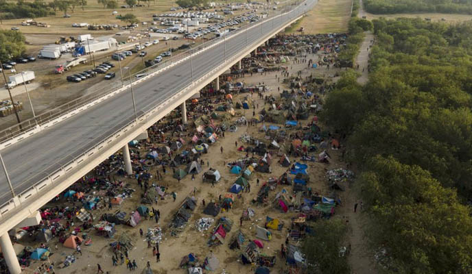 migrants to Texas