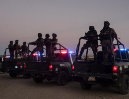 Mexican forces