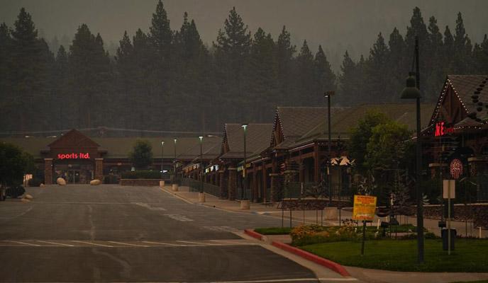 wildfire stalls